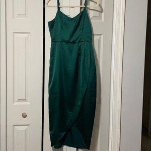 Lulus sleeveless midi dress size medium